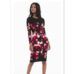 WHBM Floral Sheath Dress